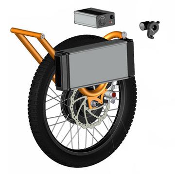 E-Joëlette - Kit de propulsion électrique pour fauteuil ...