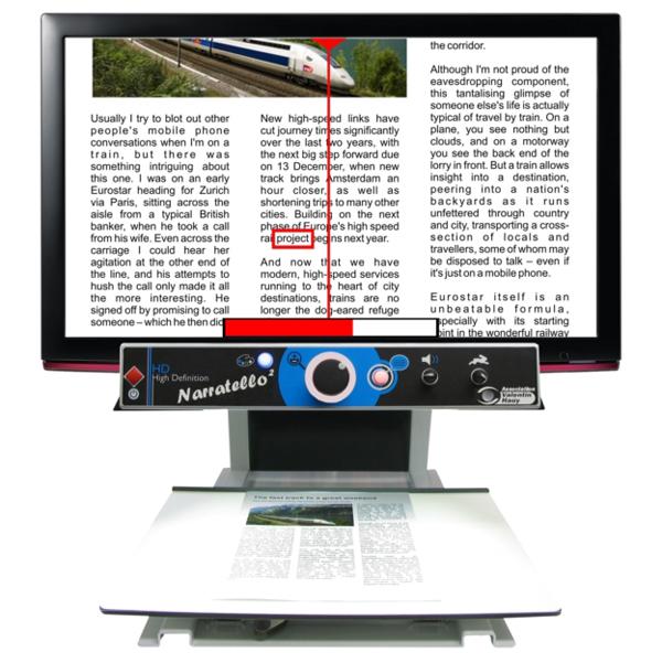 Narratello - Téléagrandisseur avec écran intégré...