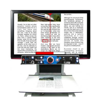 Narratello Plus - Téléagrandisseur avec écran intégré...