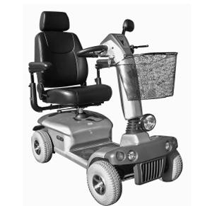 Eurogo 8 - Scooter à quatre roues...