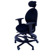 Fauteuil petite taille Elfé - Chaise de bureau à hauteur...