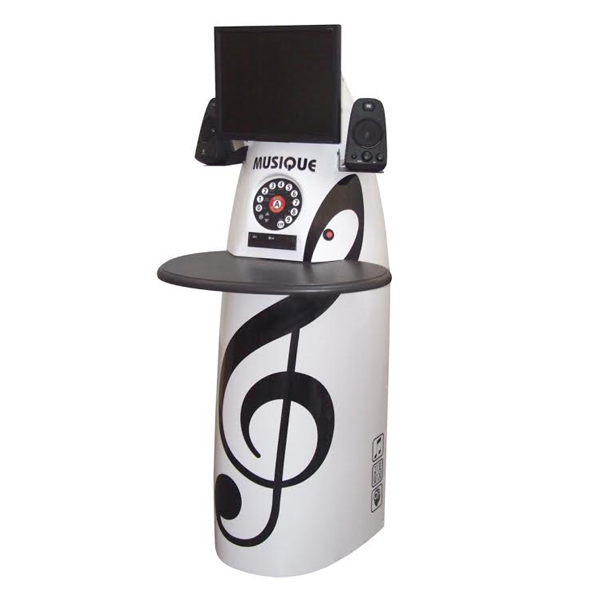 Borne musicale multimédia Mélo - Instrument de musique...