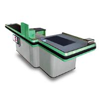 Comptoir de caisse adaptable - Meuble de cuisine à haute...
