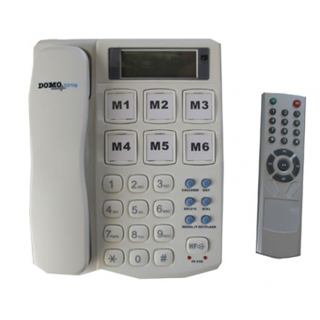 Téléphone IR - Téléphone fixe adapté...