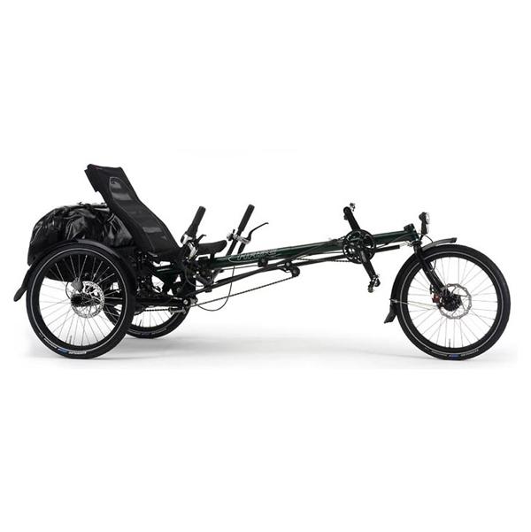 Lepus 8 vitesses - Tricycle à deux roues arrière propuls...