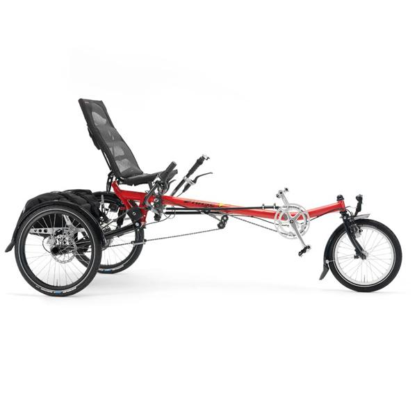 Lepus custom - Tricycle à deux roues arrière propulse pa...