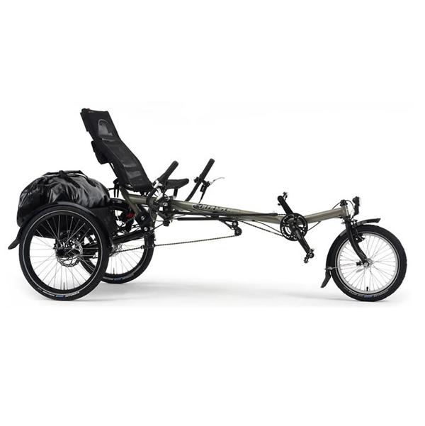 Lepus confort - Tricycle à deux roues arrière propulse p...