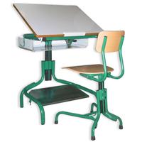 Table Hergon Dys 30 - Table de travail avec plateau incl...