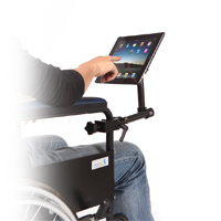 Tablette pour fauteuil roulant manuel table de lit - Chaise roulante electrique prix ...