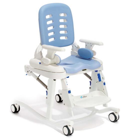 Bob - Chaise percée à roulettes...