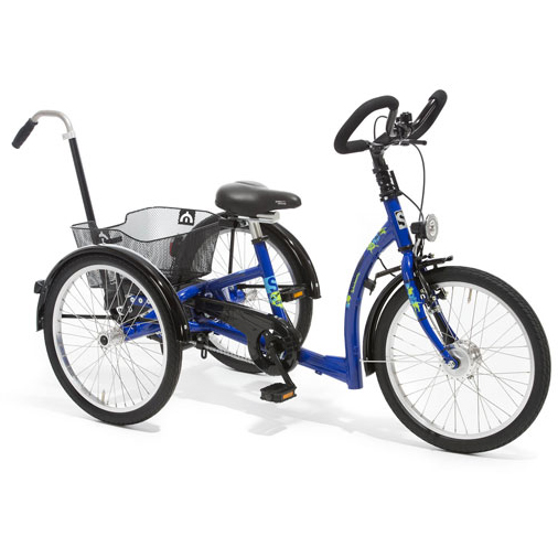 Momo - Tricycle à deux roues arrière propulse par les pi...