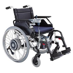 Solo - Kit de propulsion électrique pour fauteuil roulan...