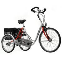 City - Tricycle à deux roues arrière propulse par les pi...