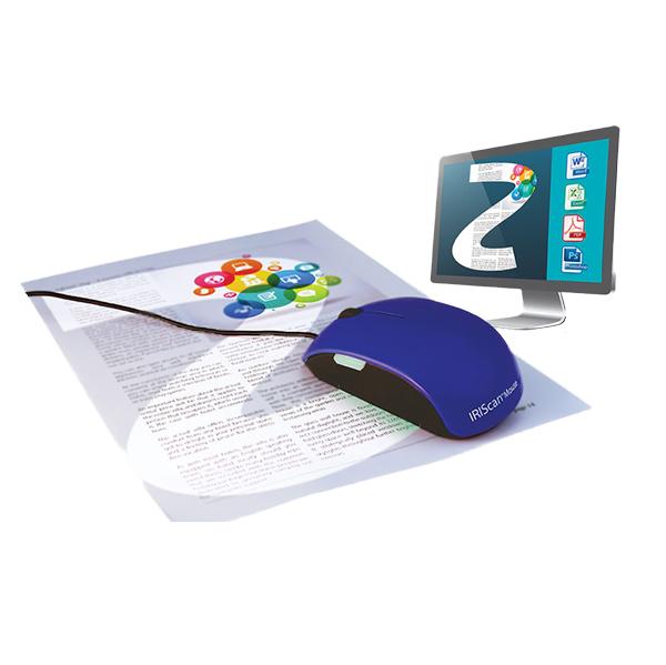 IRIScan mouse 2 - Souris adaptée...