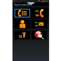 One button phone - Téléphone mobile (portable)...