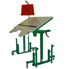 Table d'ergothérapie - Table de travail avec plateau inc...