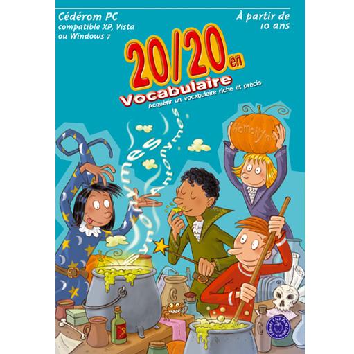 20/20 en vocabulaire - Logiciel d'apprentissage...