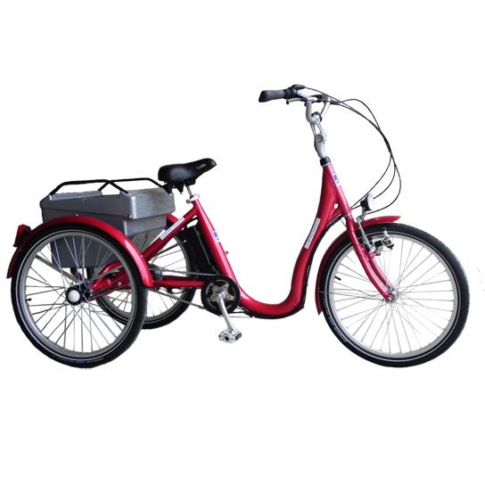 Aneto - Tricycle à deux roues arrière propulse par les p...