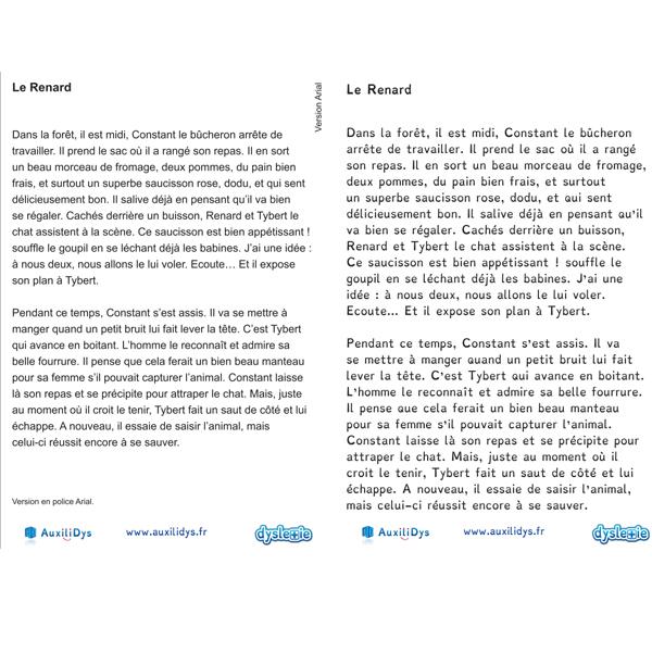 Police dyslexie - Logiciel de traitement de texte...