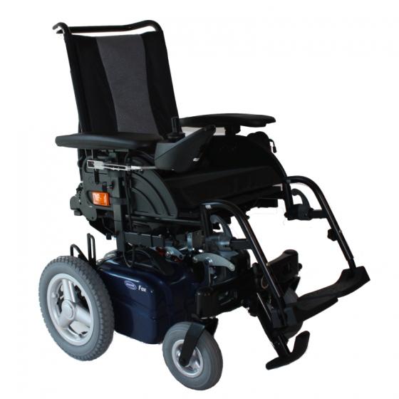 Fox - Fauteuil roulant électrique à châssis pliant ou dé...