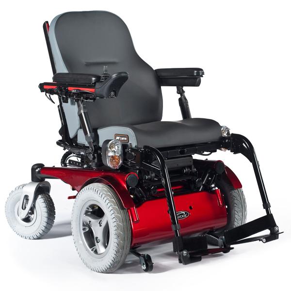 Quickie Jive F - Fauteuil roulant électrique à châssis f...