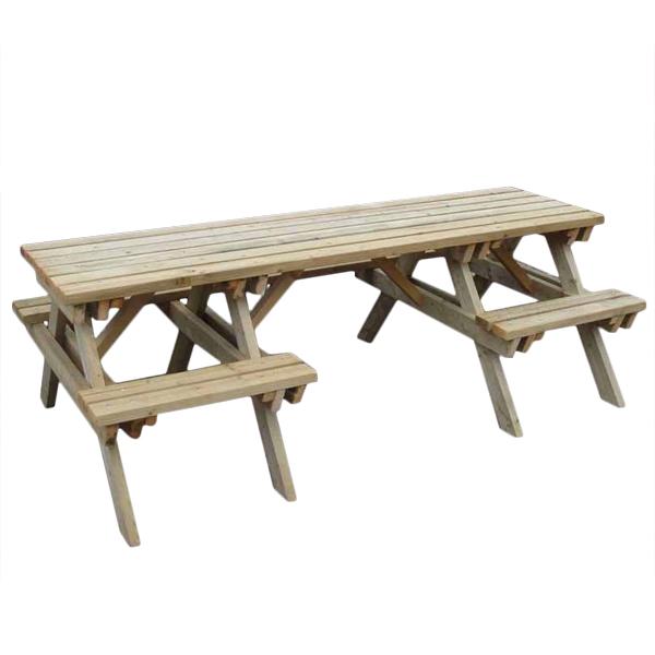 Table de pique-nique adaptée - Table à manger...
