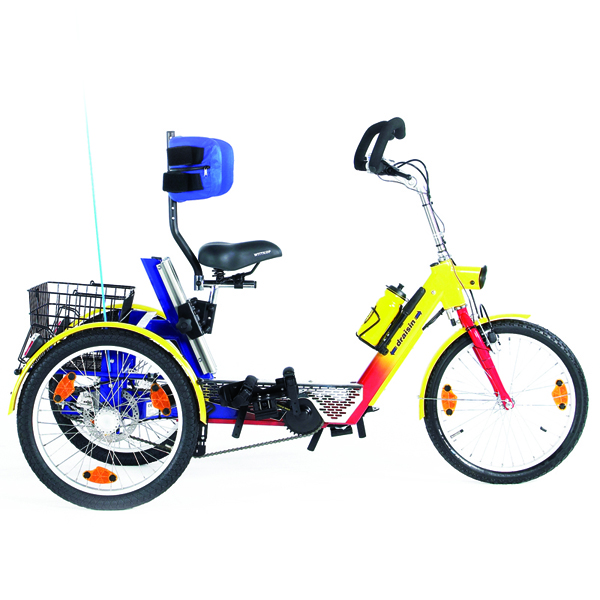Mathias - Tricycle à deux roues arrière propulse par les...