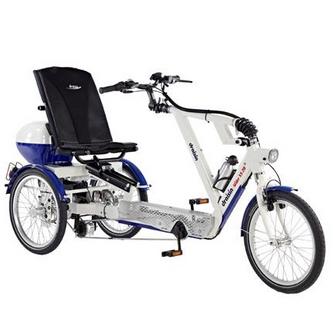 Santorin - Tricycle à deux roues arrière propulse par le...