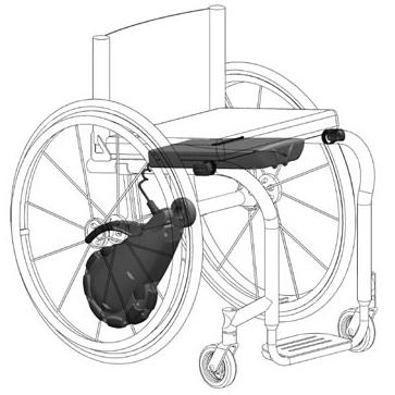 Smart Drive mx1 - Kit de propulsion électrique pour faut...