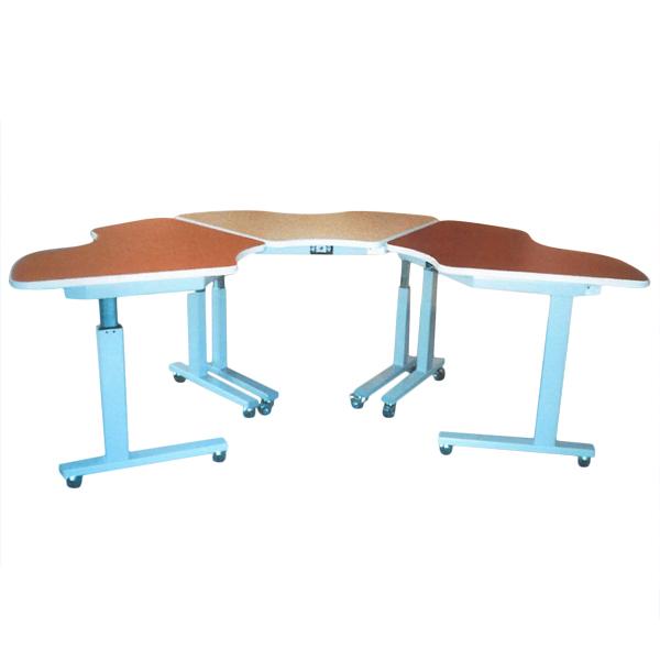 Gillian - Table de travail à hauteur réglable...