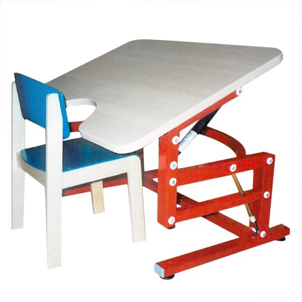 Iris - Table de travail avec plateau inclinable...