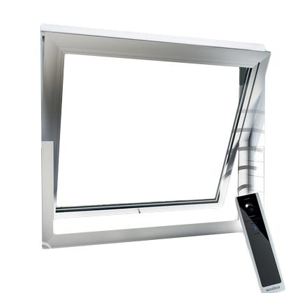 Fenêtre à fonction oscillo-battante motorisée - Automati...
