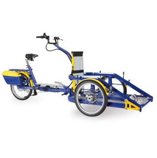 Loader - Cycle pour pousser ou tirer un fauteuil roulant...