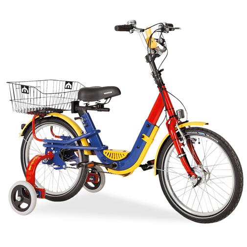 Jan - Tricycle à deux roues arrière propulse par les pie...