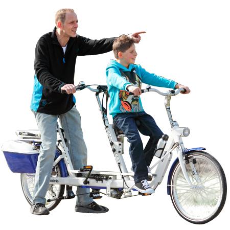 Lotse - Bicyclette à roues stabilisatrices...