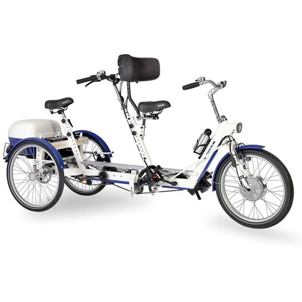 Capitaine Duo - Tricycle à deux roues arrière propulse p...