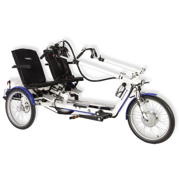 VÉLO THÉRAPEUTIQUE TWISTER - Tricycle à deux roues arriè...