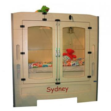 Sydney - Lit simple à hauteur fixe...