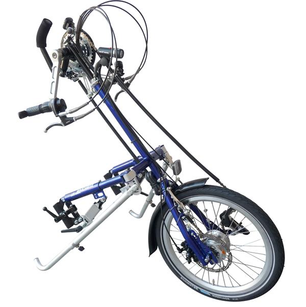 City max 20 - Troisième roue pour fauteuil roulant...