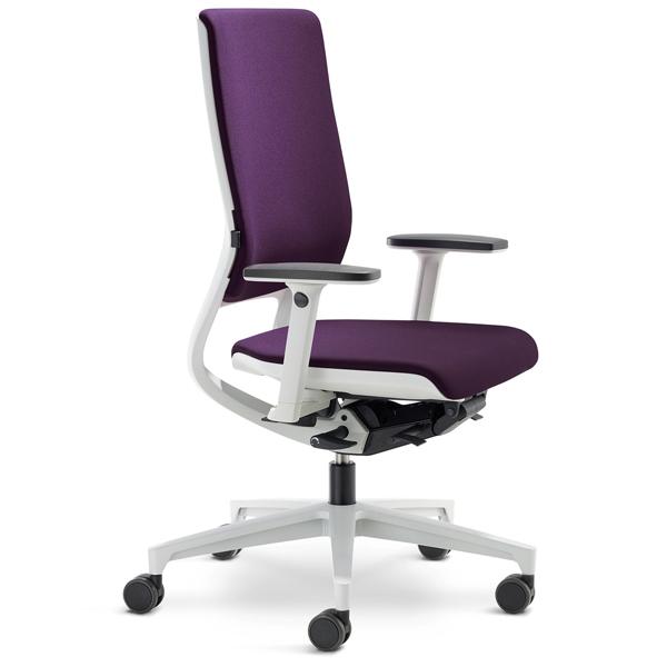Mera - Chaise de bureau à hauteur variable par vérin à g...