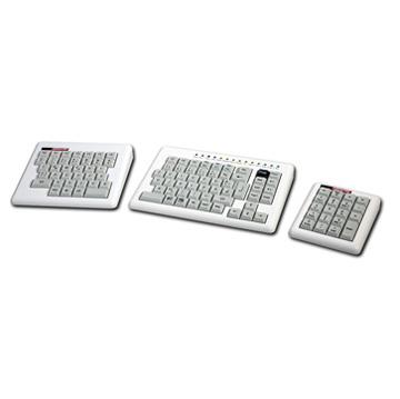 Clavier en 3 parties - Clavier d'ordinateur...