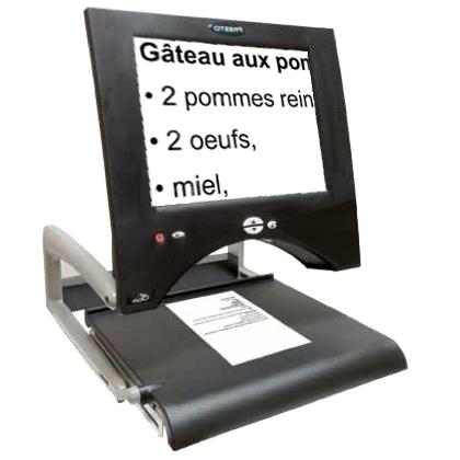 Presto - Téléagrandisseur avec écran intégré...