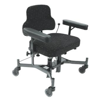 Classic XXL - Chaise de bureau à hauteur variable par vé...