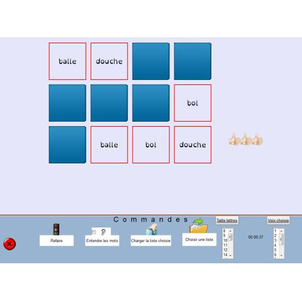 EditMemory : Mémo-Mot - Logiciel de communication par sy...