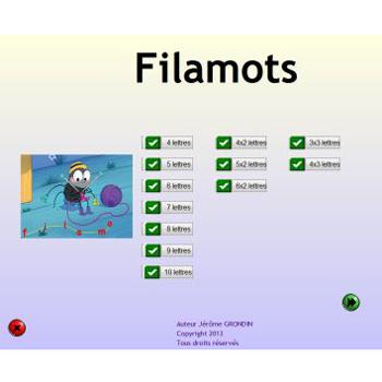 Filamot - Logiciel de traitement de texte...