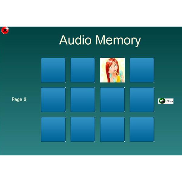 AudioMemo - Logiciel de rééducation...