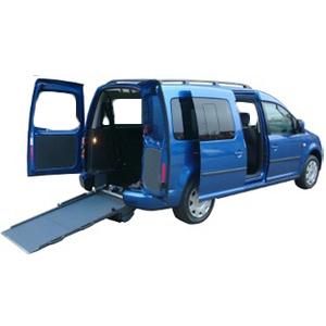 Caddy Maxi Life - Véhicule neuf aménagé pour le transpor...