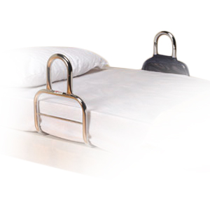 Barre d'accès au lit chromée 815084 - Barrière de lit...