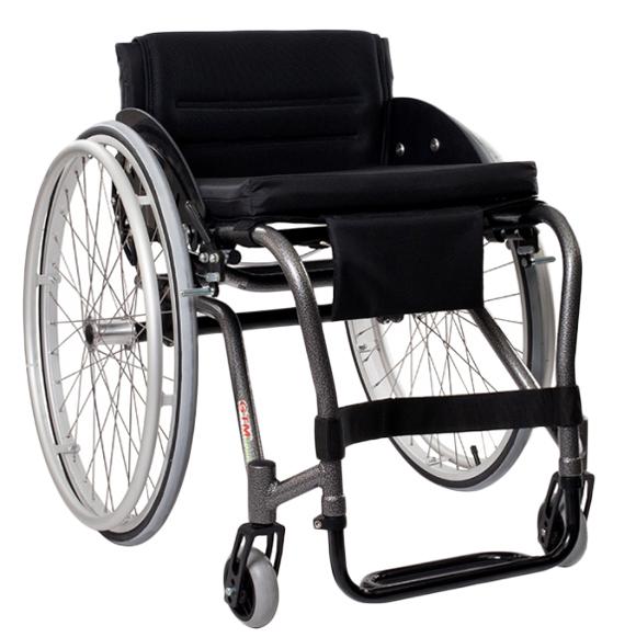 Basic - Fauteuil roulant manuel standard à châssis plian...