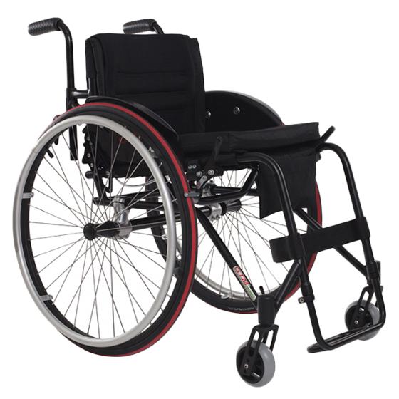 Carisa - Fauteuil roulant manuel standard à châssis plia...